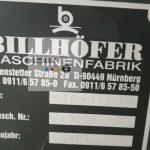 BILLHOFER MTS -104