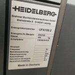 Znášacia a šicia linka Heidelberg ST 100