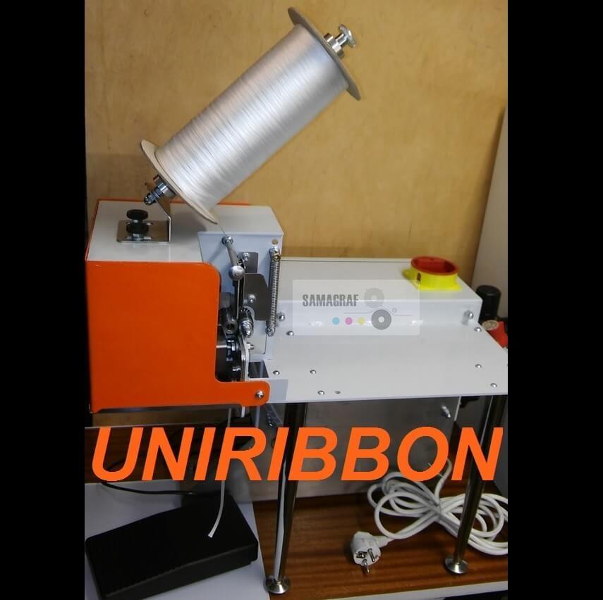 Uniribbon szalagvágó gép