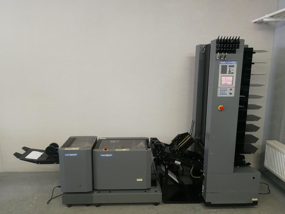 Znášacia a šicia linka Duplo DBM 120