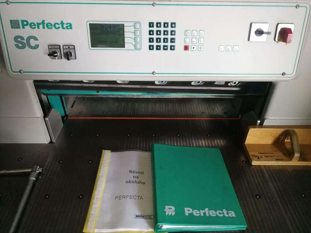 Perfecta 76 SC vágó gép